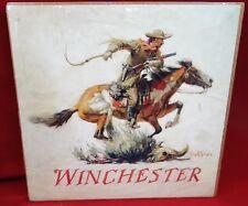 "2004 Winchester/Olin Print of Philip R. Goodwin's ""Rider Logo"""