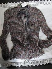 Silk Tie Neck Blouses for Women