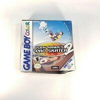 Tony Hawk's Pro Skater 2 (Nintendo Game Boy Color, 1999) Complete in Box