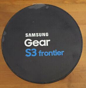 BRANDNEW Samsung Gear S3 frontier smartwatch, space grey SEALED