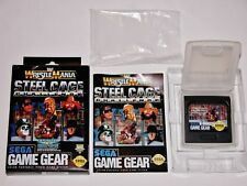 WWF Wrestlemania Steel Cage Challenge Complete - Sega Game Gear *TESTED & WORKS*