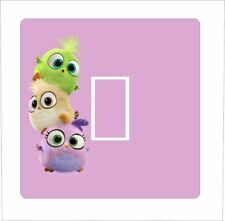 CUTE OWL STACK - Light Switch Sticker vinyl cover skin decal