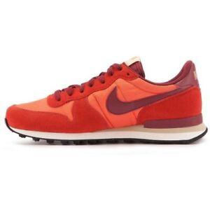 Nike Internationalist Orange Color 828041-800 Men's Size 7.5 US