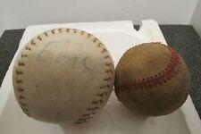 vintage softball & baseball