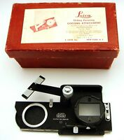 Vintage Leica Leitz Sliding Focusing Copying Attachment  In Original Box