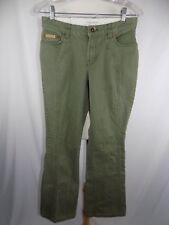 Tommy Hilfiger Women's Cotton Spandex Green  Denim Jeans Sz 7 30 x 31