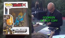 Peyton Reed signed Yellowjacket funko pop vinyl figure Antman & Wasp Ant-Man