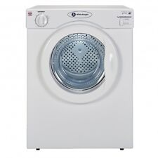 WHITE KNIGHT C39AW COMPACT VENTED TUMBLE DRYER REVERSE ACTION 3.5KG