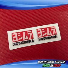 2 Adesivi Resinati Sticker 3D YOSHIMURA 6 X 4 cm
