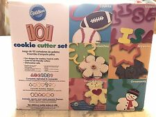 Wilton 101 Piece Cookie Cutter Set Cookies Crafts Food Colorful Gift