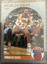 1990-91 nba hoops mark jackson  Card #205/ With Menendez Brothers Courtside