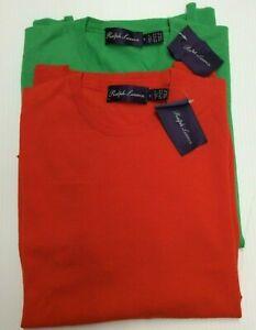 $695 Purple Label Ralph Lauren 100% Wool Crewneck Soft Pullover Knit Sweater Men