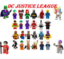 Lego DC Marvel Minifigures DC Justice League Superman Batman Joker Flash Robin