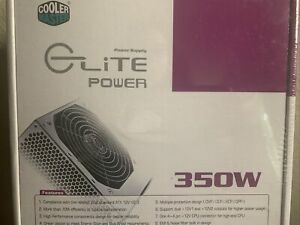 Cooler Master RS-350-PSAR-I3 GLite Power 350W Power Supply New In Box