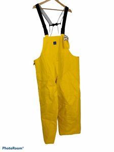 Carhartt Surrey Waterproof Work Bibs mens 2XL Yellow