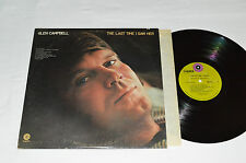 GLEN CAMPBELL The Last Time I Saw Her LP 1971 Capitol Green Canada SW-733 VG/VG