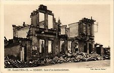 CPA MILITAIRE Guerre-Revigny, Suite d'un bombardement (316573)