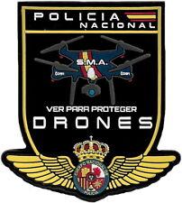 POLICIA NACIONAL CNP DRONES SERVICIO DE MEDIOS AEREOS EB01525 PARCHE INSIGNIA