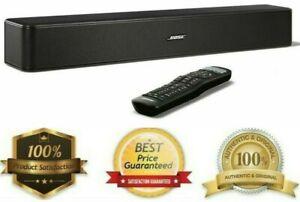 Bose Solo 5 TV Soundbar System - Wirelessly Stream Music -  Super Bass - Black