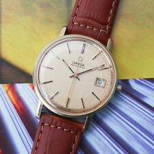 Vintage Men's Omega 17 Jewel Cal 1010 Ref 166.0202 Automatic Wrist Watch
