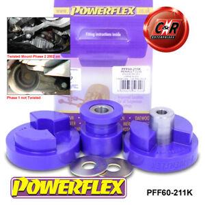 PFF60-211K Powerflex For Renault Twingo 2 RS 02/11-2014 Dog Bone EngMnt Bush Kit