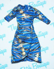 MONSTER HIGH PICTURE DAY CLEO DE NILE DOLL OUTFIT BLUE EGYPTIAN MUMMY SHIRT TOP