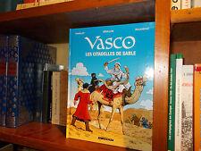 Vasco-Les citadelles de sable-Chaillet-Edition spéciale avec dossier-BD-Histoire