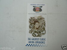 1998 FLYER CENTENNIAL CLASSIC TT ASSEN 8-10- MAY 1998 THE GREATEST CLASSIC RACIN
