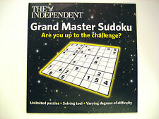 GRAND MASTER SUDOKU  ,  (1 PC CDROM) A THE INDEPENDENT NEWSPAPER PROMOTION CDROM