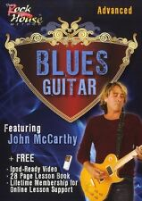 John McCarthy Blues Guitar  Advanced Learn to Play Rock Guitar Music DVD