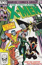 Uncanny X-Men #171 HG  Rogue Joins 1983 Marvel Comics FREE INSURED USA SHIP