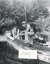 The African Queen Movie Photo 1951 Humphrey Bogart Katherine Hepburn New!