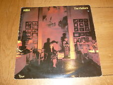 ABBA - The Visitors - 1981 French Vogue label issue 9-track vinyl LP
