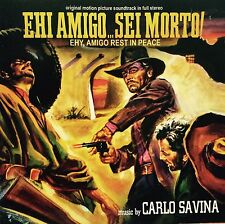 CARLO SAVINA - EH,AMIGO REST IN PEACE - Spaghetti Western Soundtrack CD