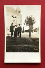Foto AK DRESDEN Strehlen um 1910 Christuskirche mit Typen   ( 62508