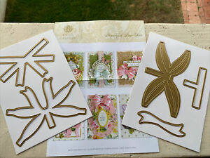 New! Anna Griffin Beautiful Bow Ties Metal Dies Set, 3D Card Making, Crafts