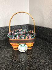 longaberger Small Easter 1998 Basket Combo