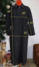 MARINA RINALDI PERSONA-MAX MARA plus size 23 us 14 16 coat wool/cashmere ITALY