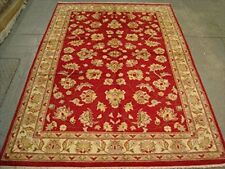 New Chobi Zeigler Mahal Vegetable Dyed Area Rugs Hand Knotted Carpet (8 x 5)'