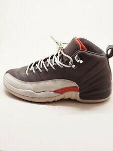 Air Jordan 12 Retro GS Cool Grey 153265-012 Athletic Shoes Size 7Y