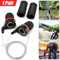 Cycling Shift Levers Bike Twist Grip Gear Bicycle Speed Handlebar Shifter Grips