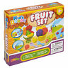 16 Pc Fruit Modelling Clay Kids Dough Set Toys Craft Shapes Tubs Gift Xmas Game