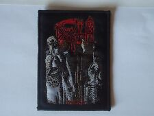 DEATH HUMAN WOVEN PATCH