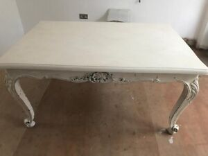 Shabby Chic French Dining Table - Chateau Style