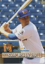 2018 Midland RockHounds Sam Bragg RC Rookie Oakland Athletics