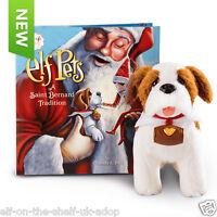 OFFICIAL Elf on the Shelf® Elf Pets®: A Saint Bernard Tradition Puppy