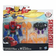 TRANSFORMERS ROBOT IN DISGUISE Decepticon HUNTER OPTIMUS PRIME VS spauracchio destinato