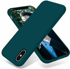 OTOFLY iPhone Xs Max Case,Ultra Slim Fit iPhone Case Liquid Silicone Gel Cover w