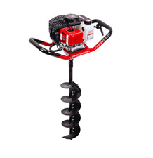 HOC ONE MAN AUGER 52 CC + 6 INCH + 90 DAY WARRANTY + FREE SHIPPING