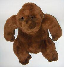"DAKIN GORILLA MONKEY plush stuffed Brown APPLAUSE LOU RANKIN FRIENDS 14"""